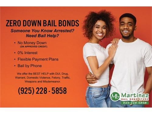 Zero Down Bail Bonds