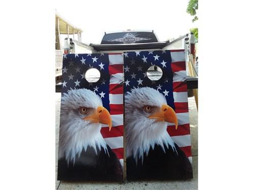 patriotic cornhole boards