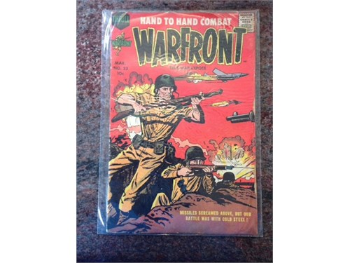 Thrill-Warfront #33, 1958