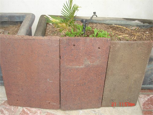 FREE FLAT  CLAY ROOF TILE