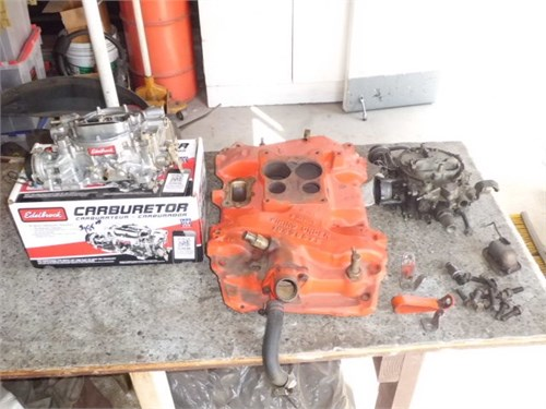 BUICK 455 ENGINE PARTS