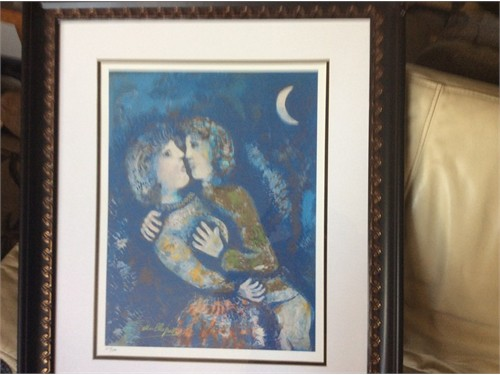 "Marc Chagall ""My Love"""