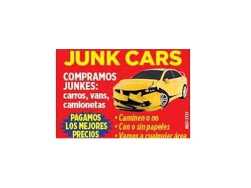 We buy old junk