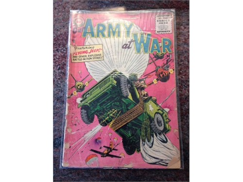 Our Army at War #47, 1956