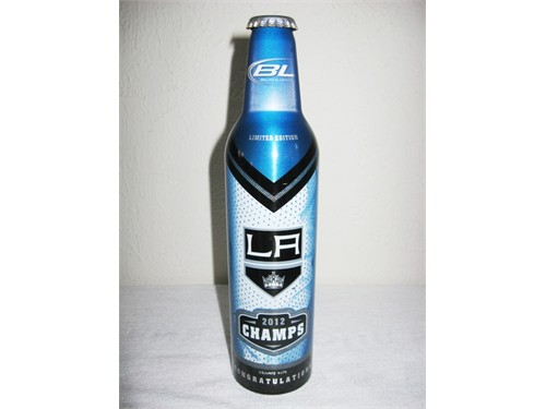 Bud Light LA Kings Bottle