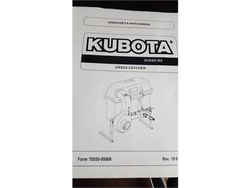 Kubota Grass Bagger