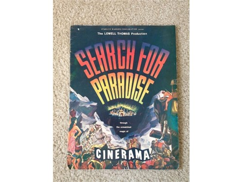 Cinerama Promo Magazine