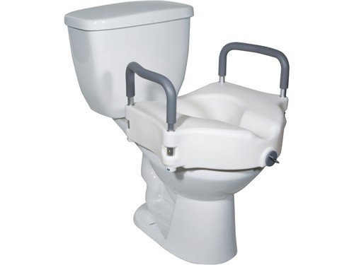 RAISED TOILET
