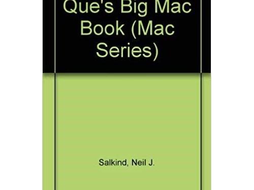 Que's Big Mac Book