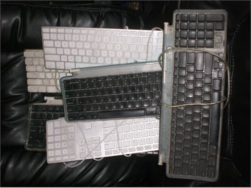 """AS IS"" MAC KEYBOARDS ETC"