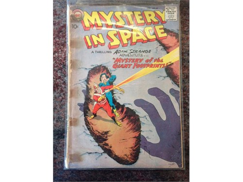 Mystery in Space #57 1960