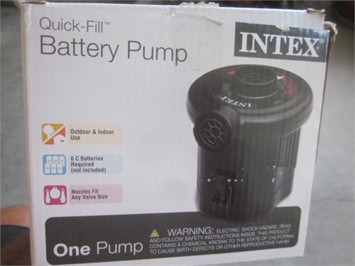 Air pump BATTERY OPERATED