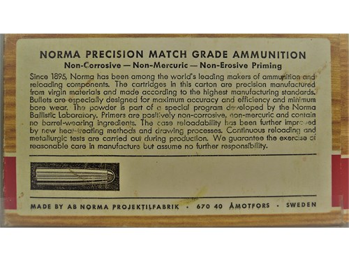 NORMA 6.5 JAPANESE AMMO