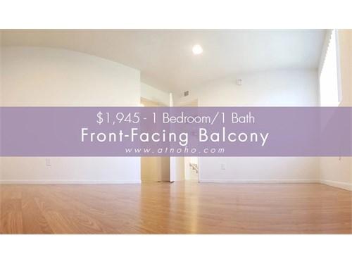 1 Bed-FrontFacing Balcony