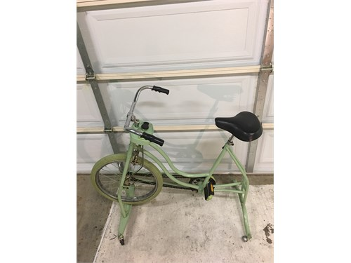 Vintage Green Huret Bike