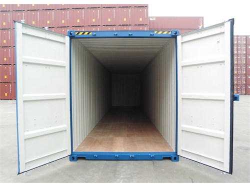 20' High Cube containers