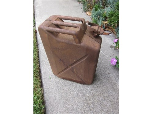JEEP Jerry gas can steel