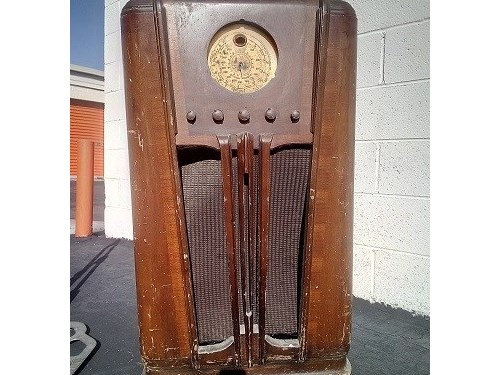 silvertone vintage radio