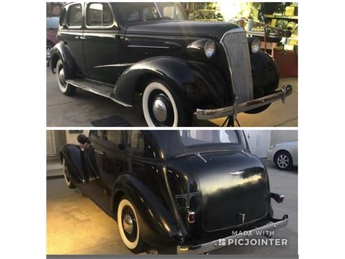 1937 Chevy master 4 door