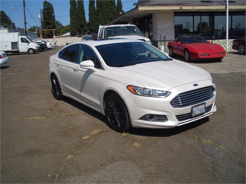 13 FORD FUSION ECOBOOST
