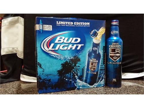 Bud Light LA Kings Bottle