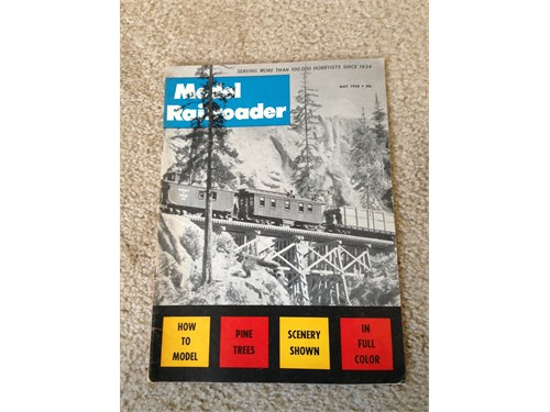 Model Railroader May 1958