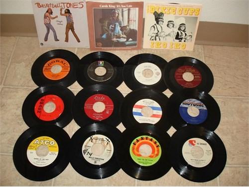 300 + 45rpm Records !