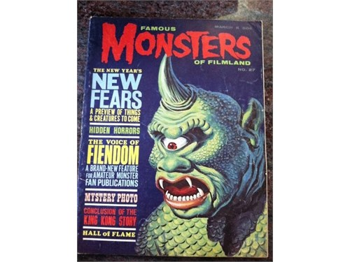Famous Monsters #27, 1964