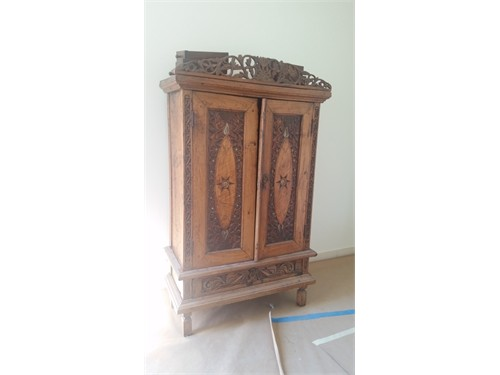 Indonesian Armoire Teak