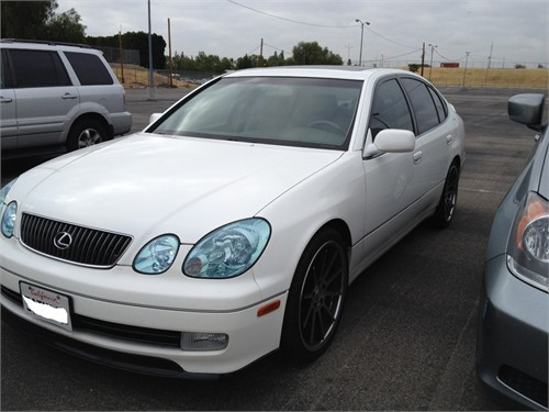 2003 Lexus GS 300 White