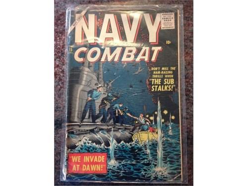 """""""Navy Combat"""" No. 15 1957"""