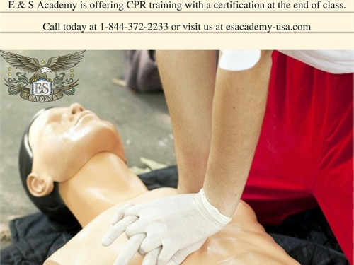 CPR training is now open