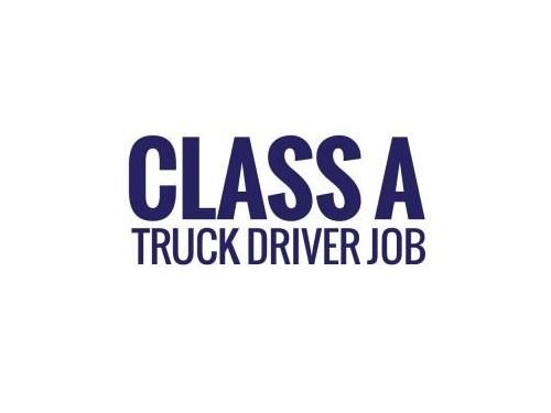 Class A truck driver|$25