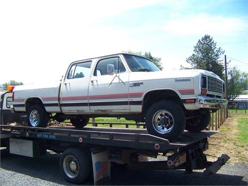 1984 Dodge W350 Crew Cab