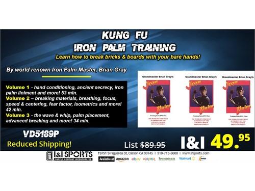 Kung Fu Iron Palm DVD Set