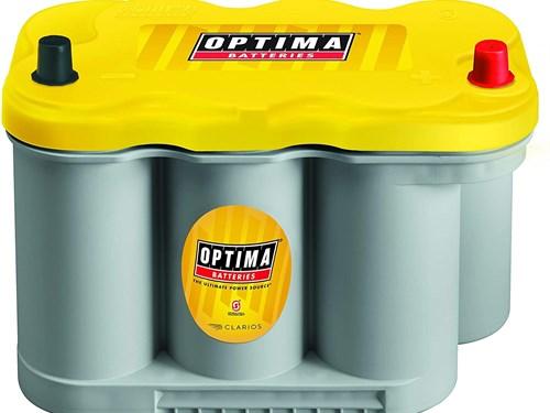 Optima D27F Yellow Top