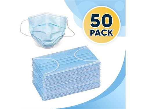 Disposable mask box of 50
