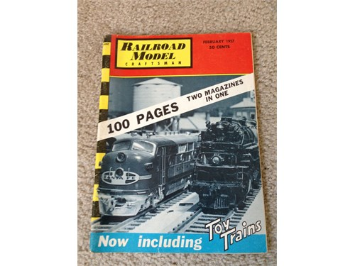 Railroad Craftsman 2/1957