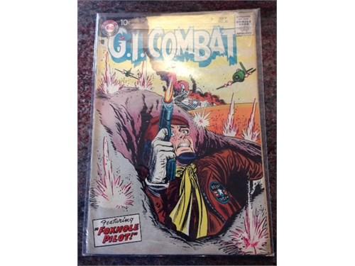 """DC""""G.I. Combat"""" #50, 1957"""