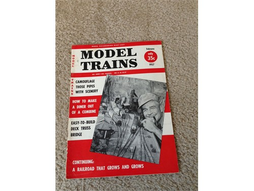 Model Trains Feb 1957