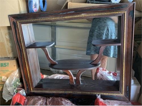 Shadow box antique