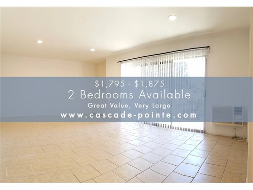 Great Value - Large 2 Bed