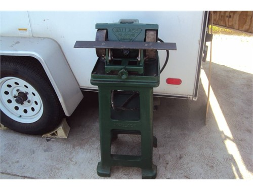 Wallace Oil stone Grinder