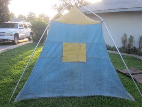 OLD CANVAS TENT 1960's
