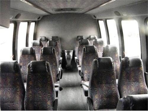 Loaded 19 Passenger Bus