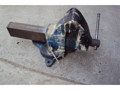 "Morgan 4-1/2"" Bench Vise"