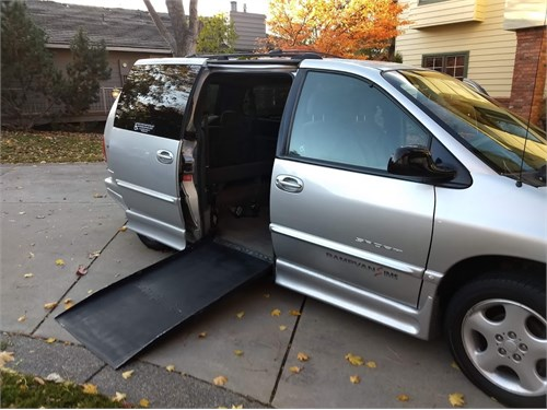 WHEELCHAIR access van!!!