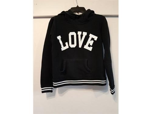 """Black """"Love"""" Hoodie"""