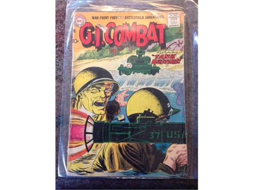"""DC """"G.I.Combat"""" #47, 1957"""