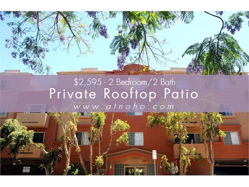 2 Bed-Private Roof Patio